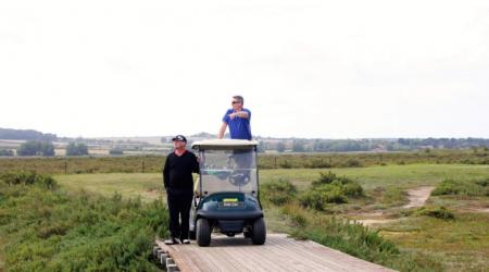 Norfolk golf buggy