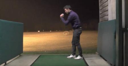 Driving Range Trick Shot Special
