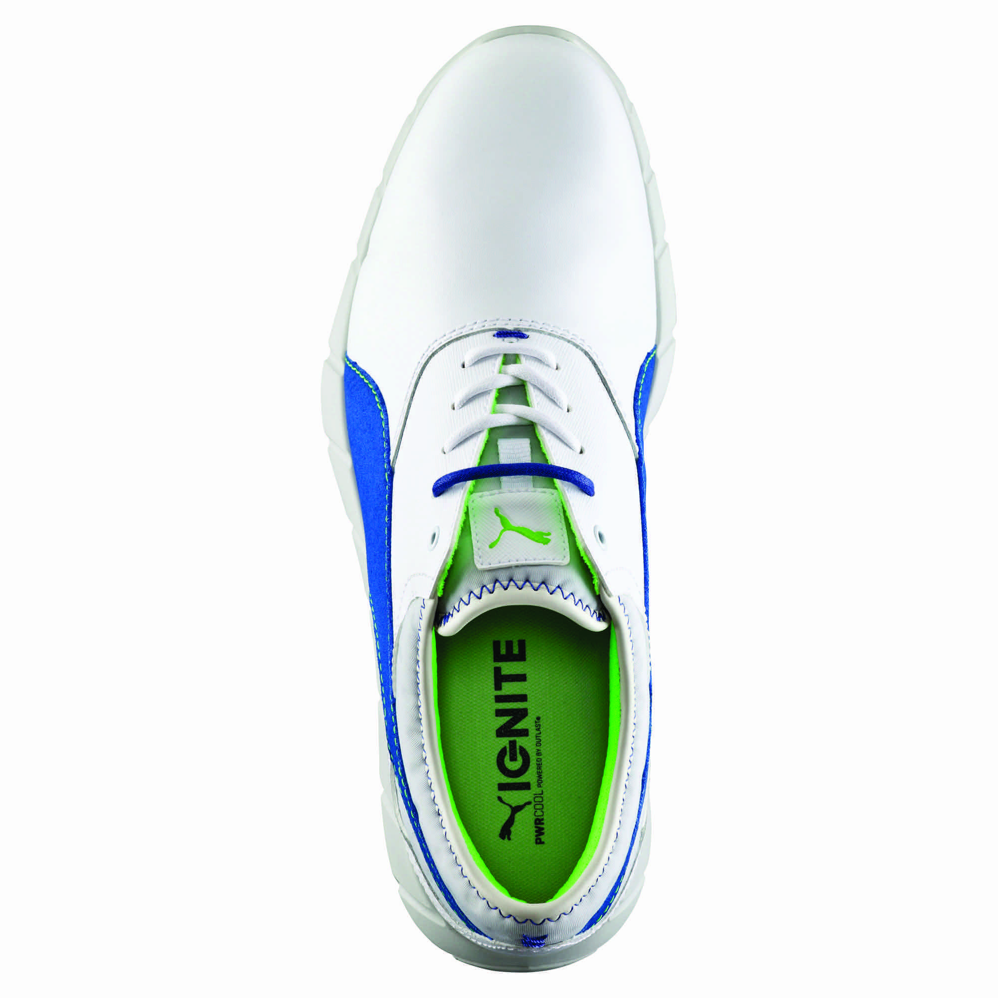 The Puma Ignite Spikeless Golf shoes