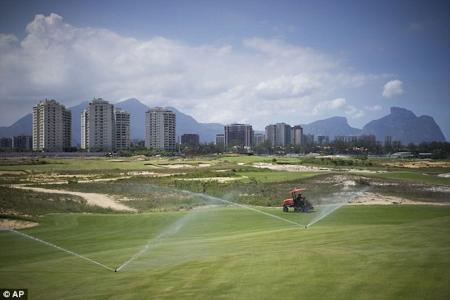 Olympic Golf Venue Completed