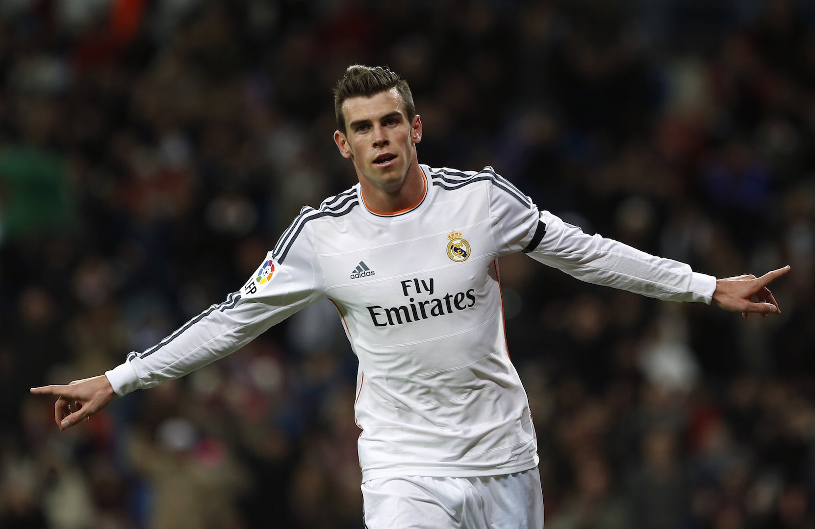Holiday–maker paired with Gareth Bale
