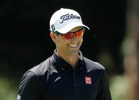 Adam Scott Pumped