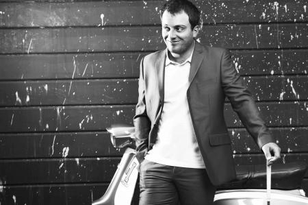Francesco Molinari's lambretta beach-golf caper