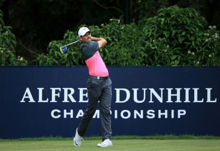 Charl Schwartzel goes low