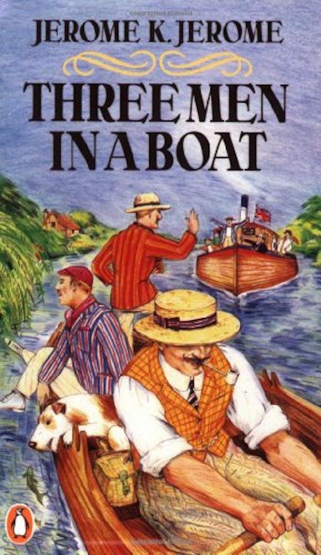 трое в лодке на немецком языке