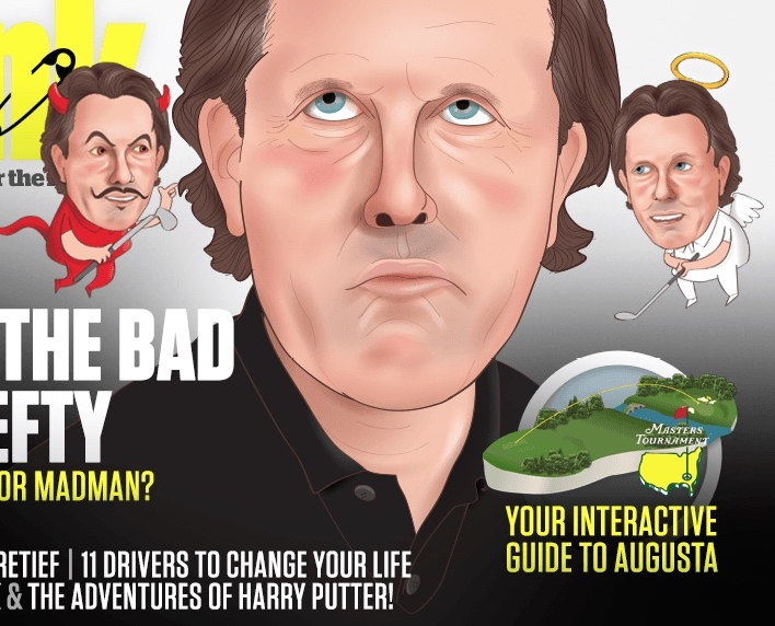 Phil Mickelson jokes about his terrible driving