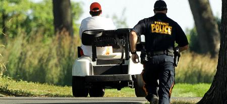 Golf Cart Joyride Ends In Court