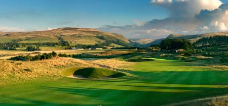 Gleneagles golf view