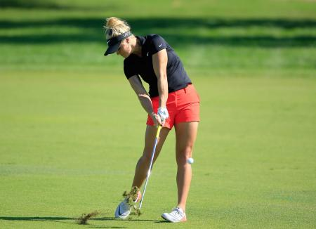 How to hit to an elevated green with Carly Booth
