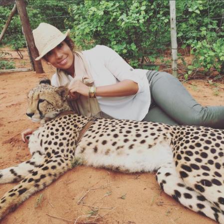 Cheyenne Woods, Cheetahs not Tiger's