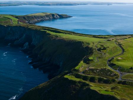 12th hole, Old Head of Kinsale