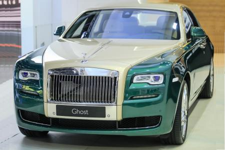 The Rolls Royce Ghost Golf Edition