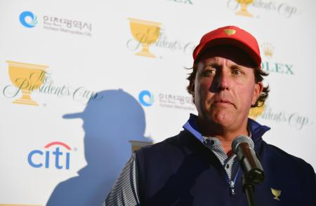 Phil Mickelson Commits