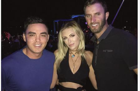 Rickie hangs with Dustin & Paula