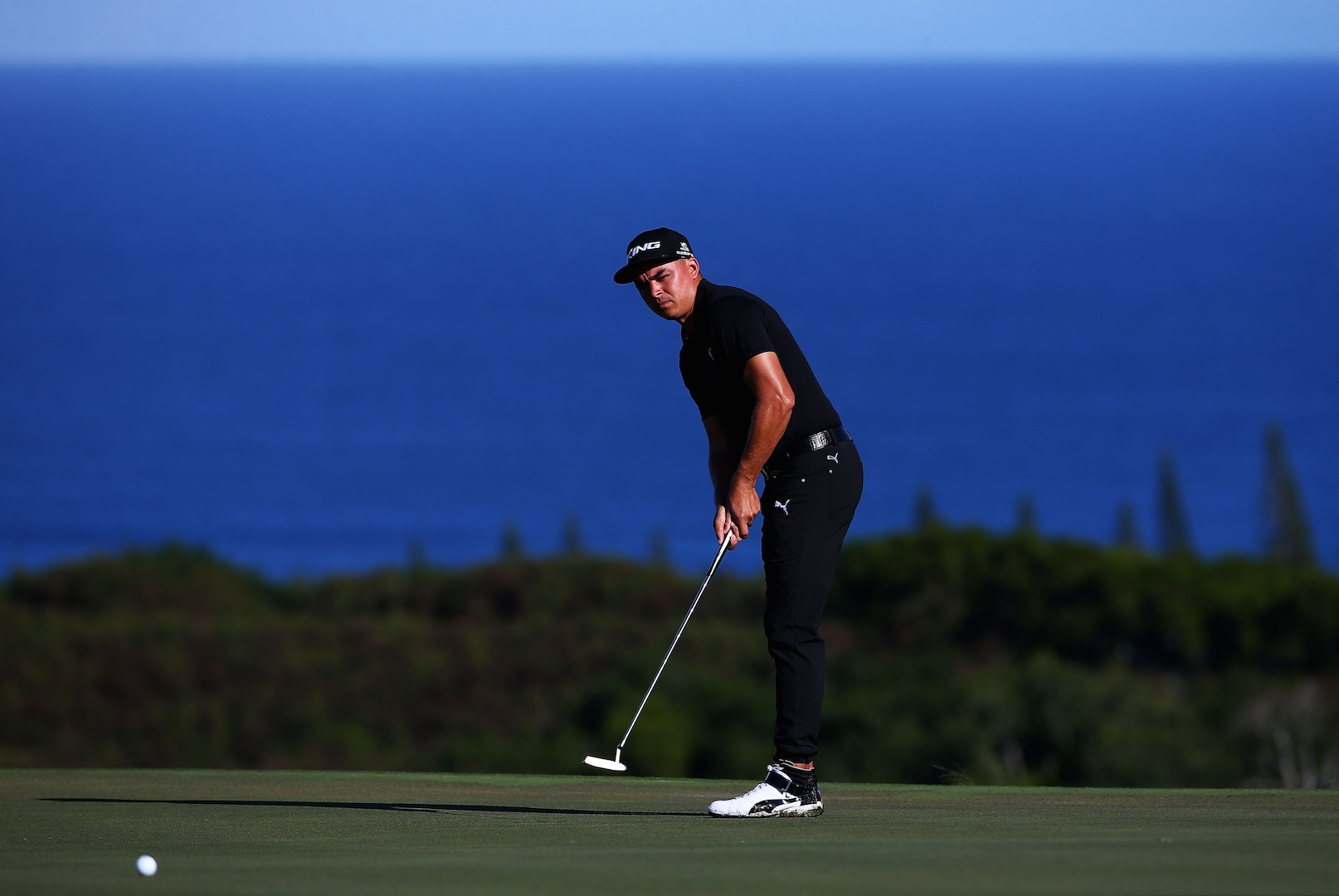 Rickie Fowler wears high tops and tracksuit while playing - GolfPunkHQ a3532f4bd8ca
