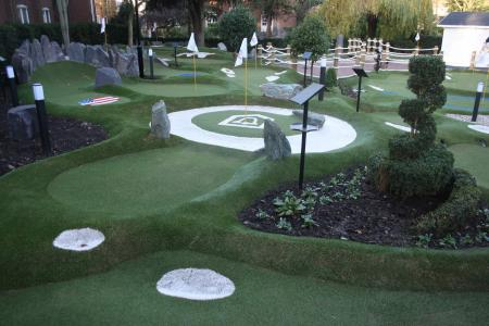 The Belfry Open New Crazy Golf Course