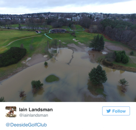Golf Flood Damage