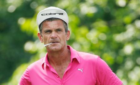 OGP Jesper Parnevik Takes The Biscuit in Challenge