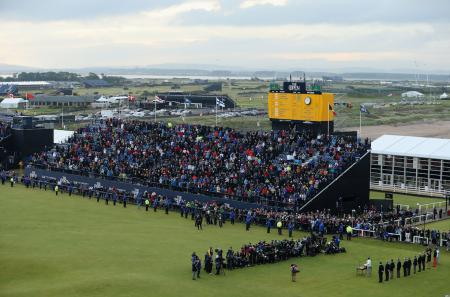 The Open gives Scotland £140 million boost