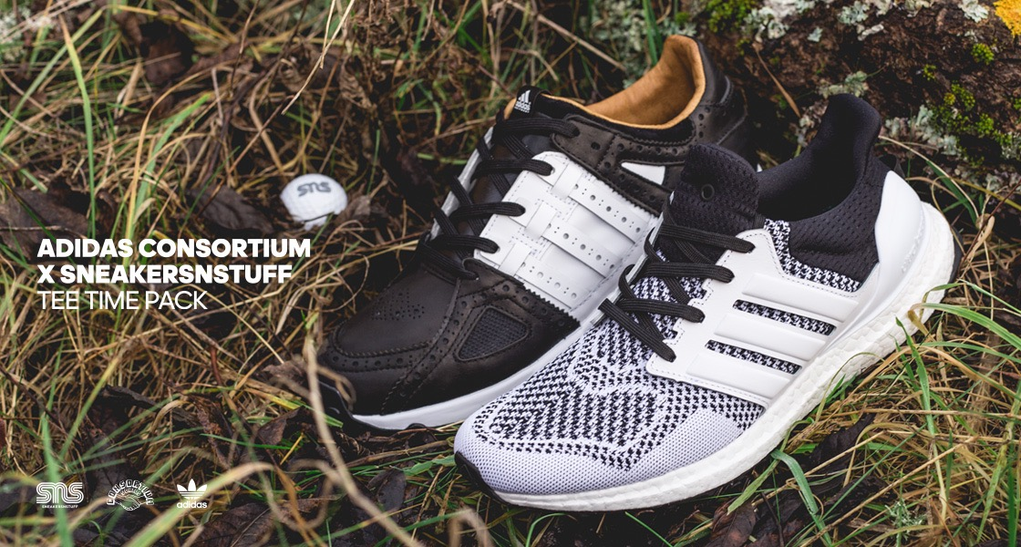 Words  Daniel Owen. adidas Consortium X Sneakersnstuff Tee Time Pack The  adidas BOOST ... 4326a8d70