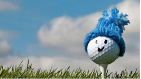 Winter golf image