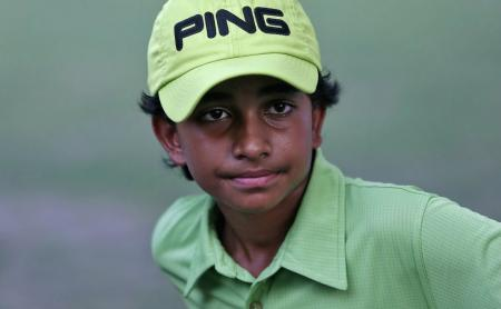 11-year-old indian golfer strives for world domination
