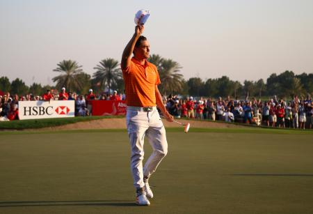 It's a win for Rickie Fowler