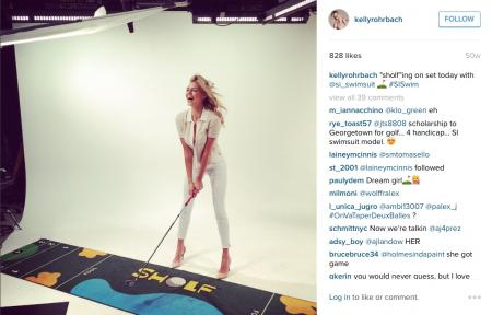 On the golf road with Kelly Rohrbach
