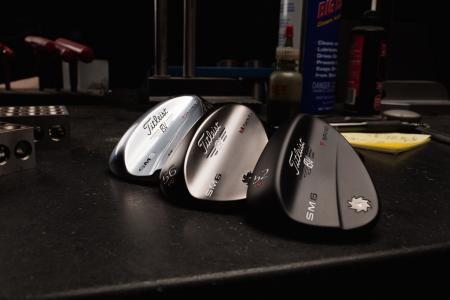 The Titleist Vokey Design SM6 Wedges