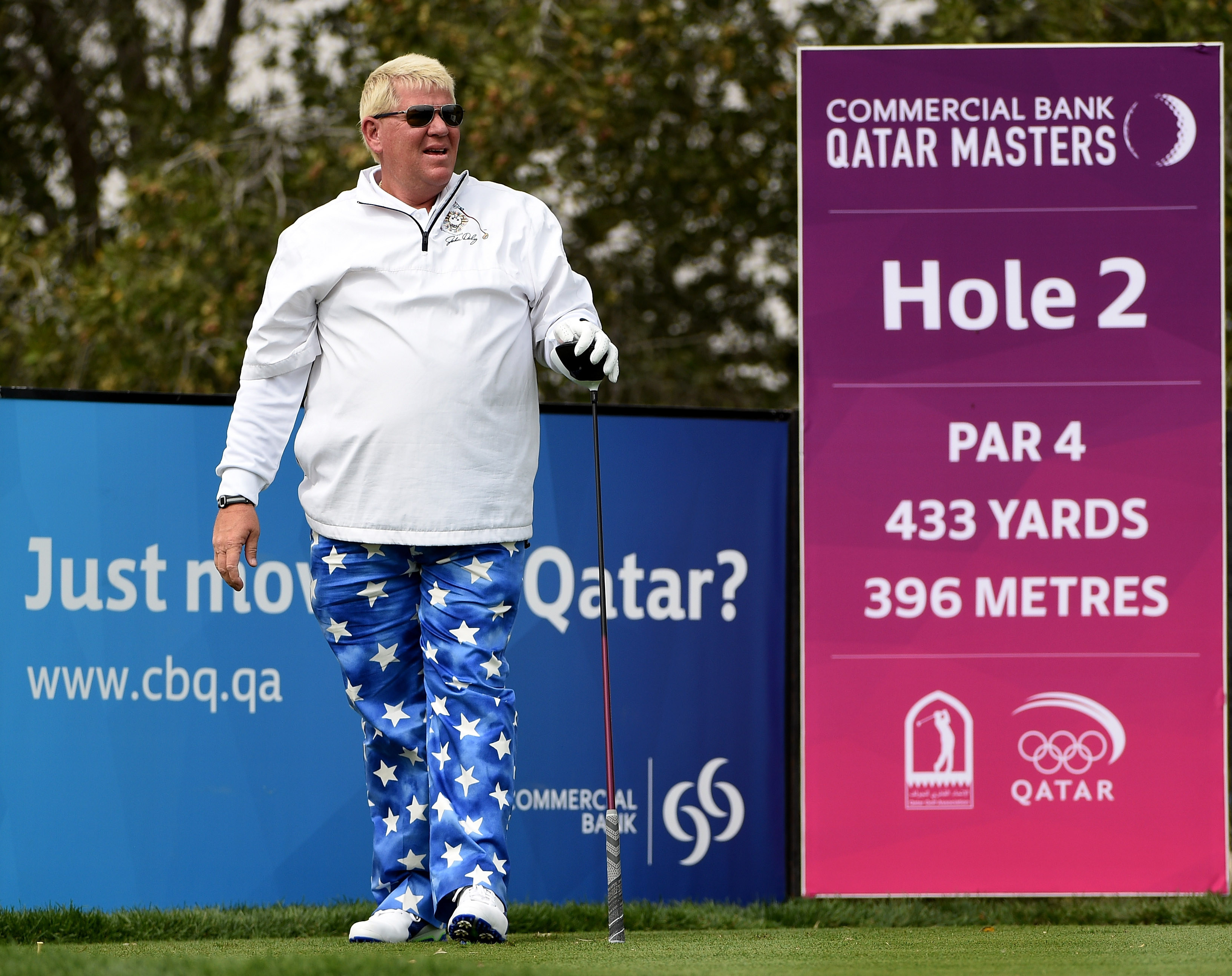 John Daly in bust up
