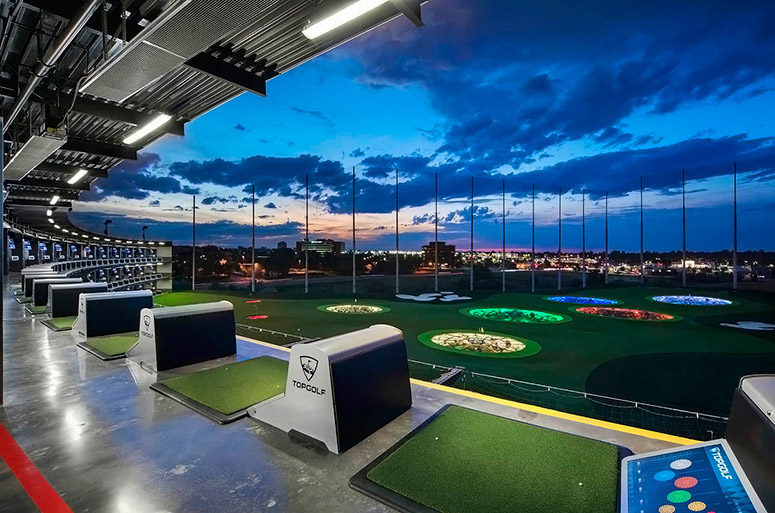 Top golf aldershot