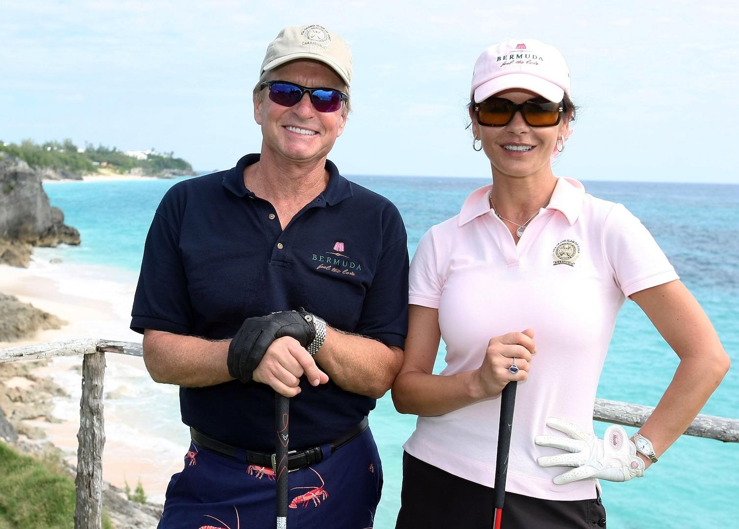 Catherine Zeta Jones's Golf Addiction