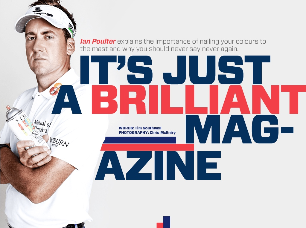 Ian Poulter: Original GolfPunk