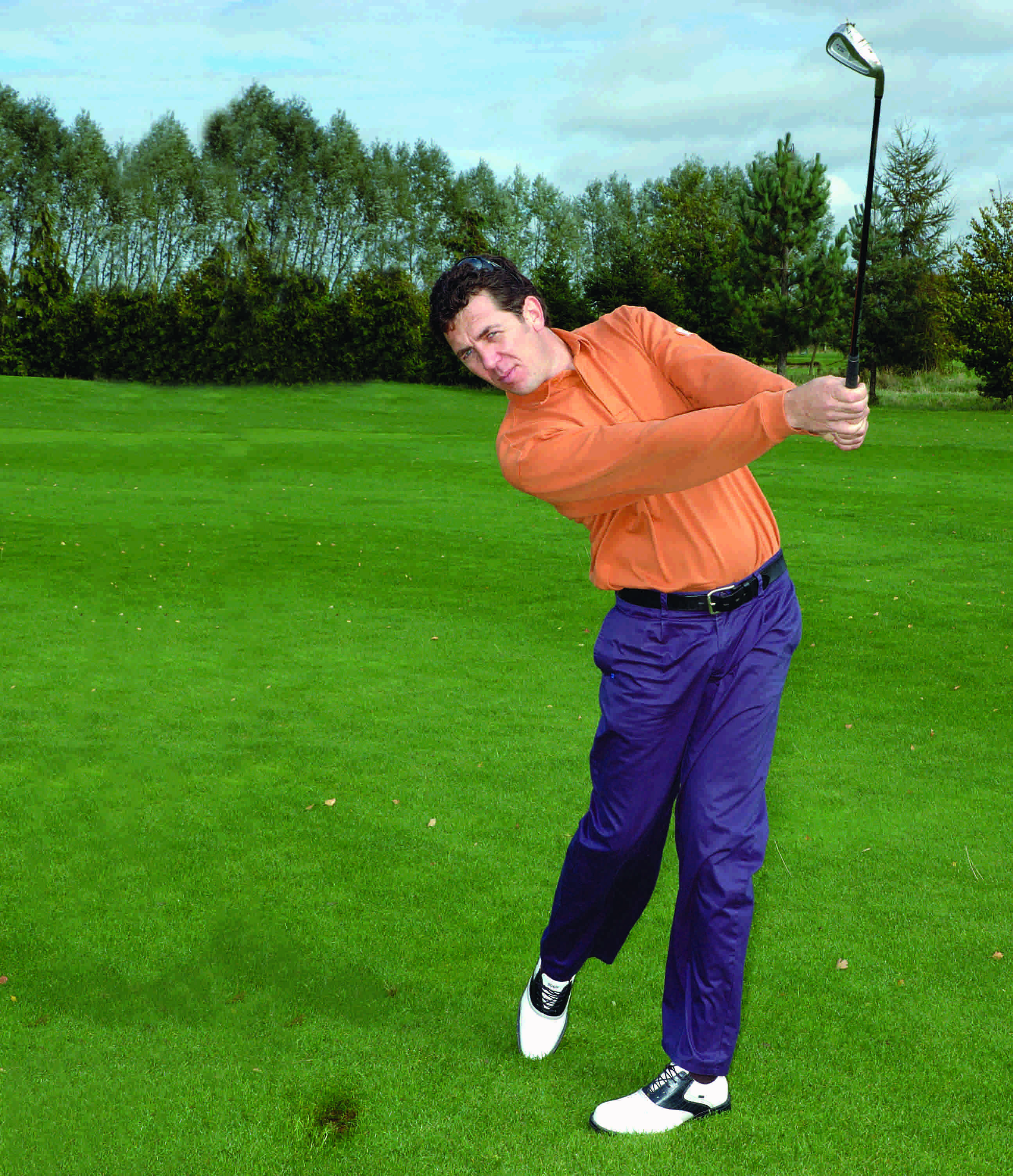 how to play a fairway shot in golf