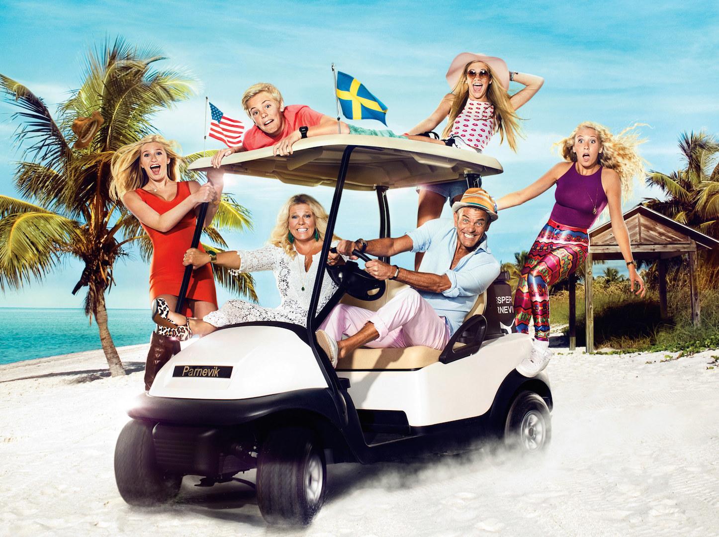 Jesper Parnevik now a reality TV Star