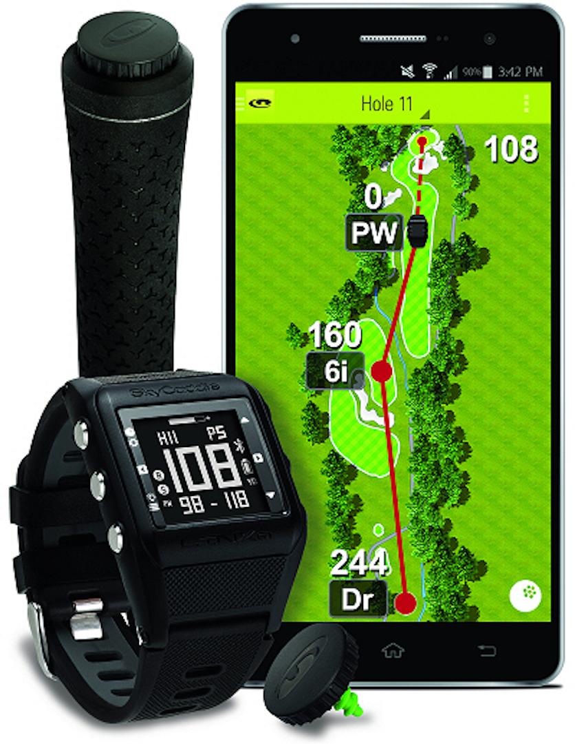 SkyCaddie launch their LINX GT watch