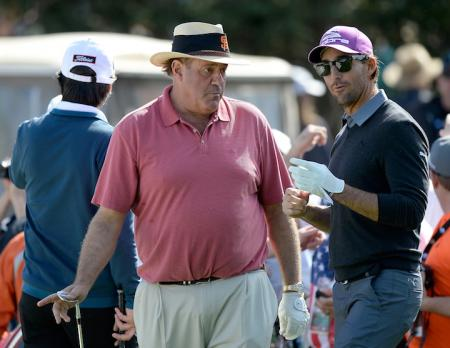 Chris Berman at the AT&T Pebble Beach
