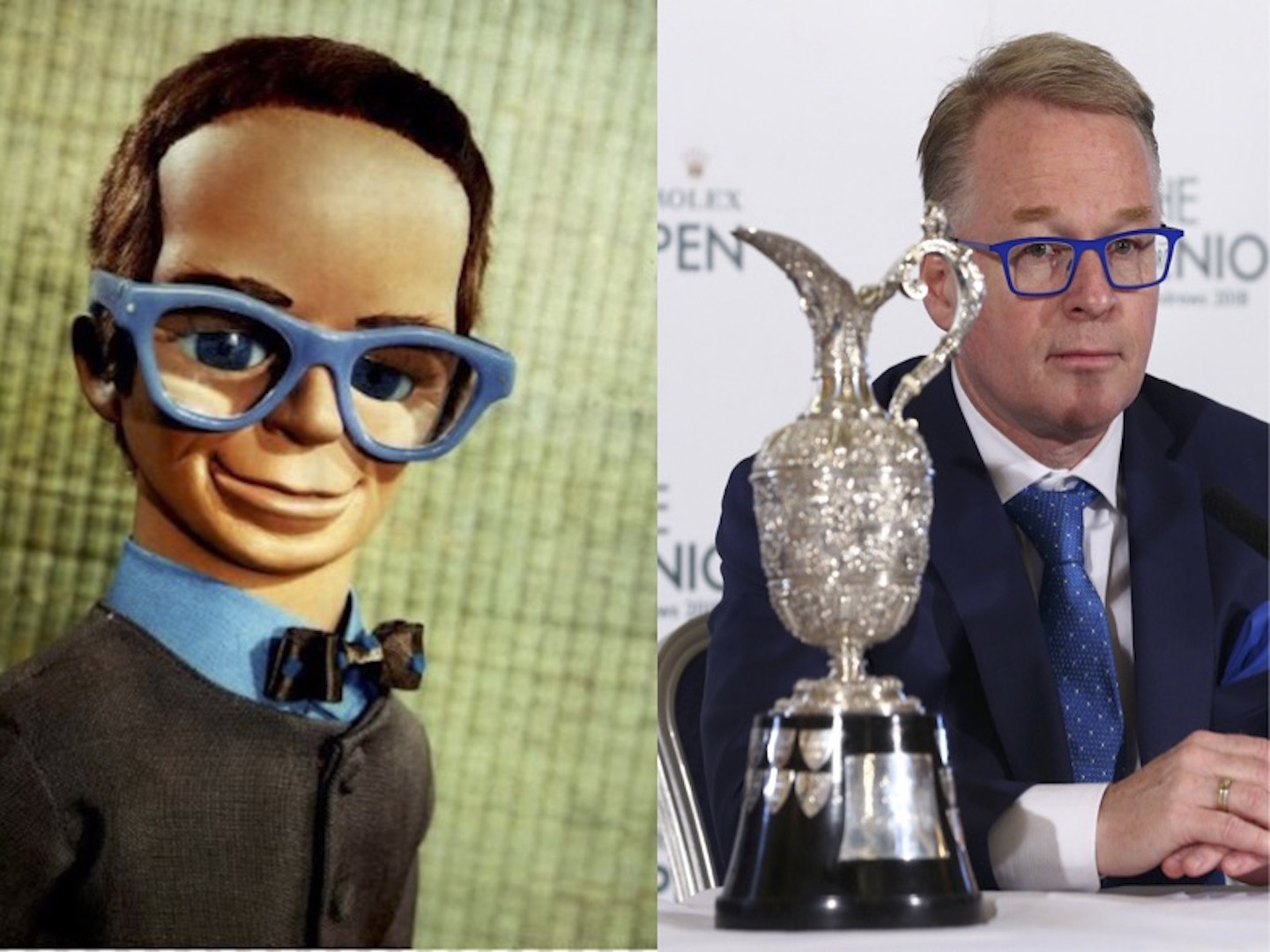 Keith Pelley is Brains from Thunderbirds!!!