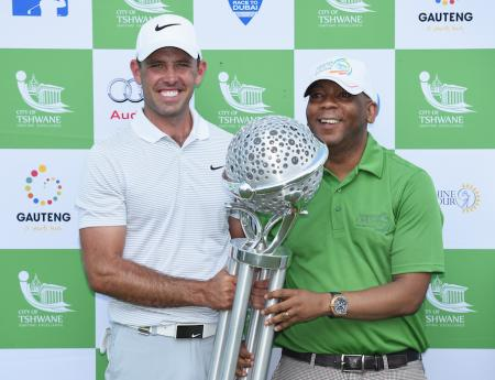 Charl Schwartzel wins the Tshwane Open
