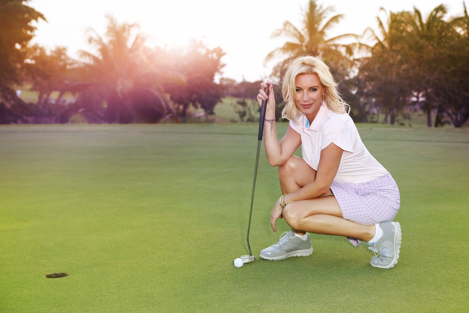 Denise Van Outen reports for GP from Barbados!