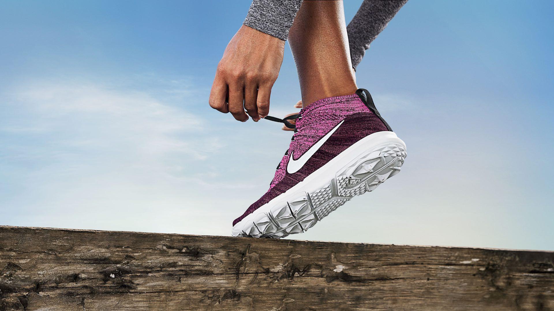 Nike Flyknit Chukka Golf Shoe