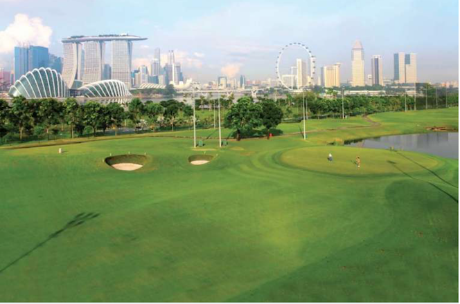 Singapore golf course creates first par 6 for the country