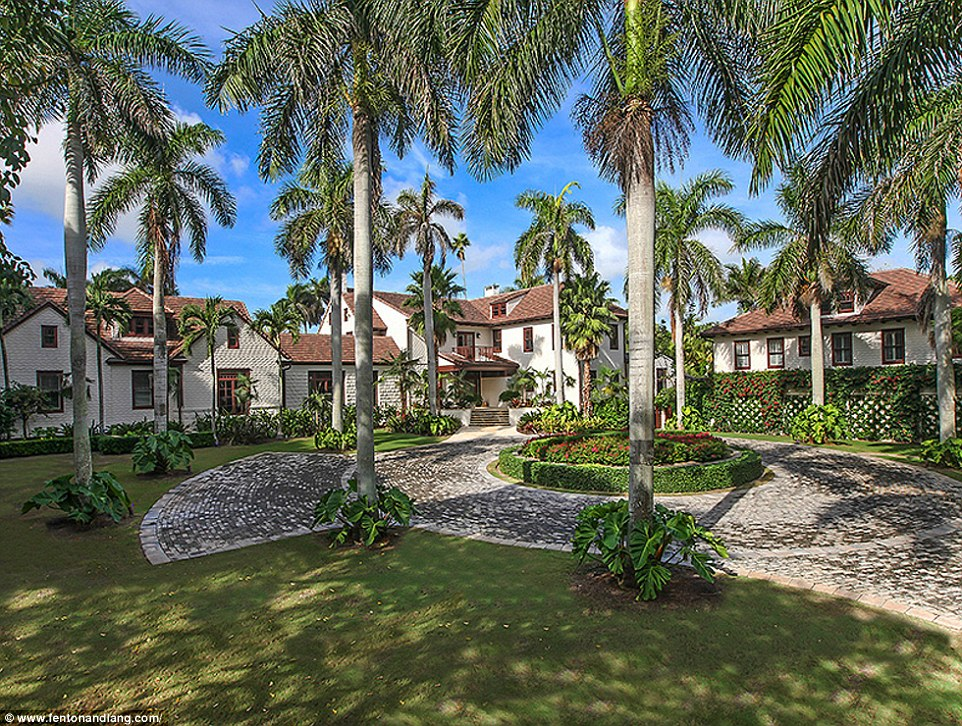 Greg Norman selling his $55 million home
