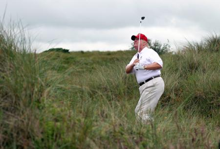 Trump's Scottish courses lose £9,000,000.00