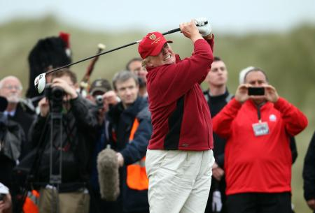 Trump resigns from his Scottish golf clubs
