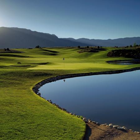 GolfPorn:  Sandia Resort Golf Course, New Mexico