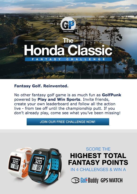 Honda Classic Fantasy League