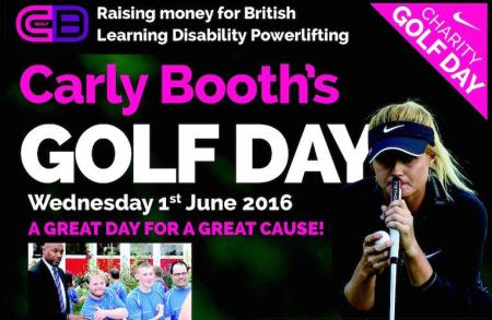 Play in Carly Booth's Golf Day!!!