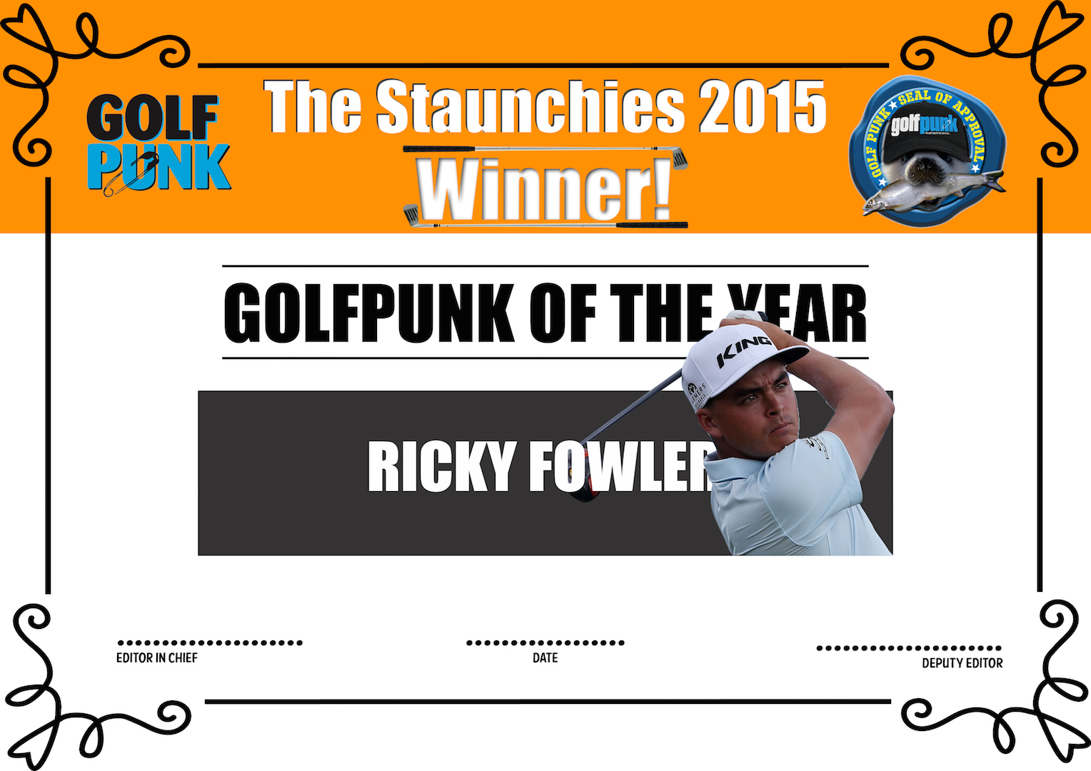 The Staunchies 2015 Results – Equipment