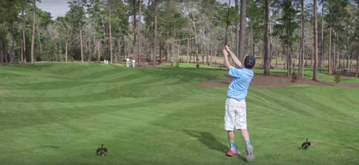 Amazing: Tiger Woods Witnesses 11-year-old's Hole In One At Bluejack National